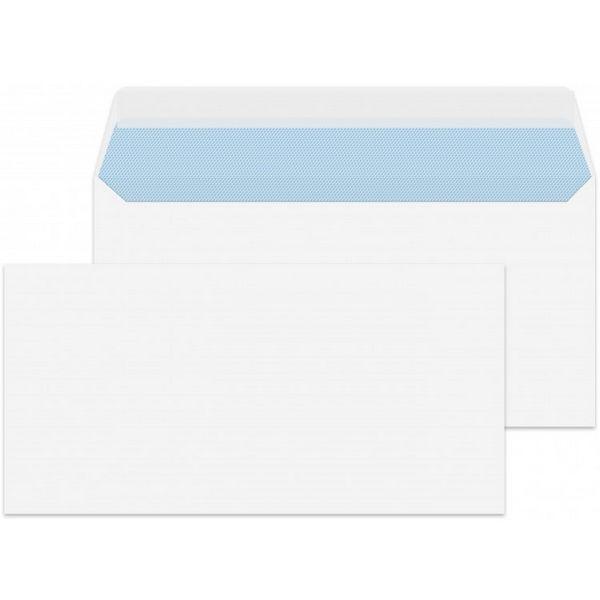 Plic DL, 110 x 220mm, autoadeziv, fara fereastra, 25 buc/set