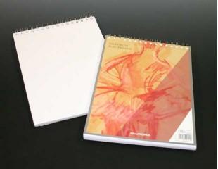 Bloc desen cu spirala, A4, 100 file - 90g/mp, AURORA Esquisse